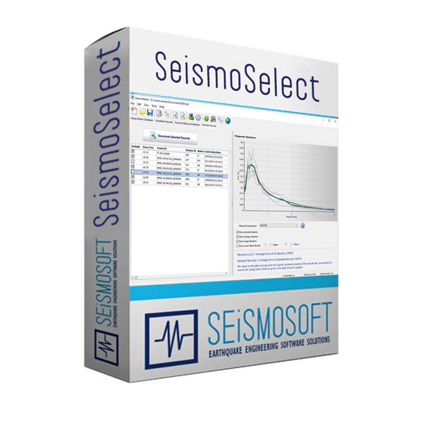 SeismoSelect - Selection and Scaling of Ground Motion Records