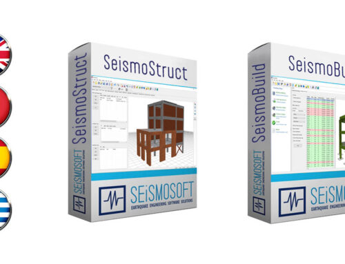 Italian, Spanish and Greek versions of SeismoBuild and SeismoStruct 2021 now available