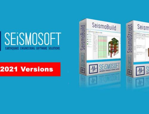 New 2021 SeismoStruct and SeismoBuild versions